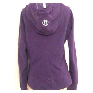 Lululemon vintage cotton jacket